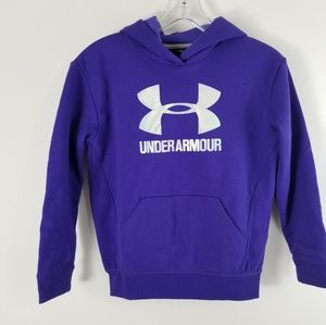 Under Armour Shirts & Tops - Under Armour Girls YMD Pullover Sweater Hoodie